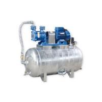 Hauswasserwerk 1,1 kW 230V 91 l/min 150L Druckbehälter verzinkt ...
