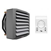 65 kW Flowair Set Lufterhitzer Montagekonsolle, Drehzahltraforegler + Thermostat
