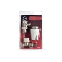 "Thermostat Set Durchgang Gerade Thermostatkopf 1/2"" Thermostat Ventil Komplett"