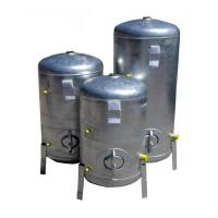 Druckbehälter 100L bis 300L 9  bar senkrecht verzinkt  Druckkessel verzinkt für Hauswasserwerk senkrecht