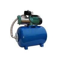 Wasserpumpe 1300W 100l/min 24 l Druckbehälter Gartenpumpe Hauswasserwerk Set TOP