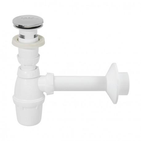 Siphon für Waschbecken mit Push Open Ablaufventil