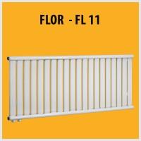 FLOR - FL11 Design PANEELHEIZKÖRPER HEIZKÖRPER FLACH TOP
