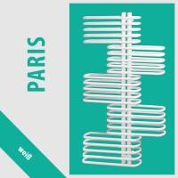 Paris Weiß - Badheizkörper Handtuchheizkörper Handtuchheizung