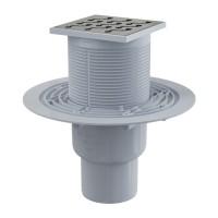 Bodenablauf Senkrecht Duschablauf Badablauf Design Messing begehbare Dusche DN 50 Siphon Geruchsverschluss