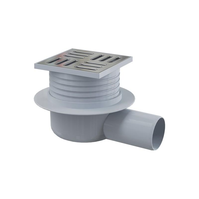 Tm Wohndesign: Bodenablauf Waagerecht 105X105 DN 50 Duschablauf Badablauf