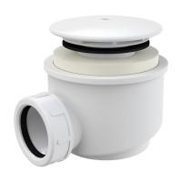 Dusche Ablaufgarnitur DN 60 Ablaufbogen Geruchsverschluss Siphon Sifon Duschtassse Garnitur Weiss