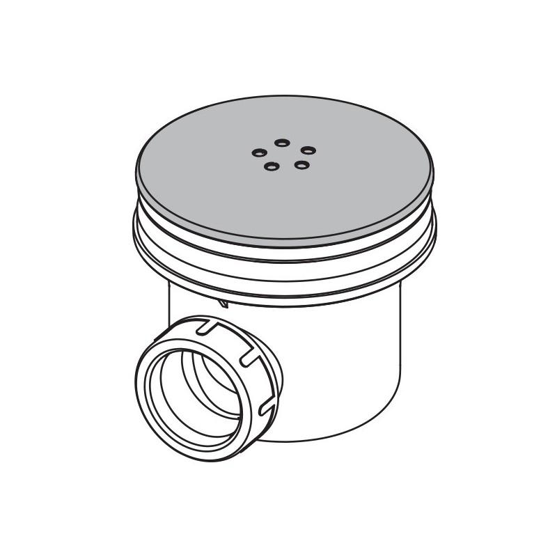 Dusche Ablaufgarnitur DN 90 Ablaufbogen Geruchsverschluss Siphon Sifon Duschtass