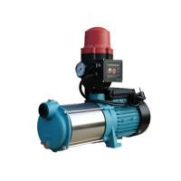 Wasserpumpe 130 l/min 1,65 kW 230V mit Trockenlaufschutz Jetpumpe Gartenpumpe Hauswasserwerk Kreiselpumpe