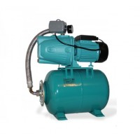 Wasserpumpe 60 l/min 1,1 kW 230V 50 l Druckbehälter, Druckschalter, Manometer Jetpumpe Gartenpumpe Hauswasserwerk Kreiselpumpe