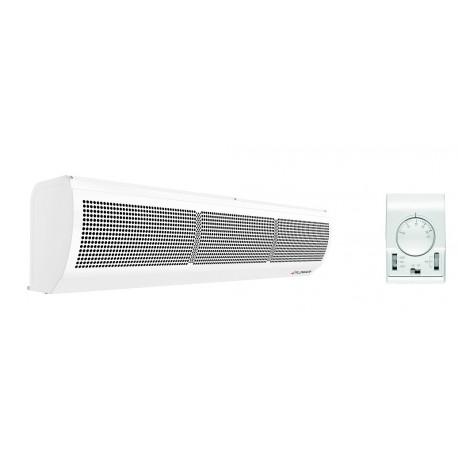 Luftschleier elektrisch 1-2 M Eingäng Lufttür Thermostat Haltersatz Gratis