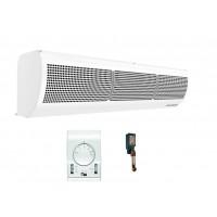 Luftschleier elektrisch 1-2 M Lufttür Thermostat Stufenregler Türfühler Neu
