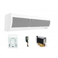 Luftschleier Wasserwärmetauscher 1-2 M Türsensor Stellmotor Thermostat Halterung