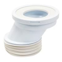 WC-Verbindung Anschluß für WC für Toilette !! WC-Anschluß 110mm außermittig