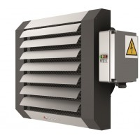 Lufterhitzer Elektrisch bis 23 kW Hallenheizung Luftheizung+ Steuerung Thermostat 3 Stufen Regler