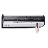 Luftschleier L 90 cm bis 6 kW elektrisch Fernbedienung Lufttür Lufterhitzer Halterung