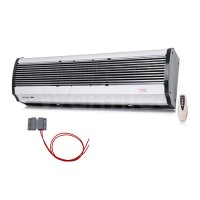 Luftschleier L 90 cm bis 6 kW elektrisch Türsensor Fernbedienung Lufterhitzer Lufttür Halterung