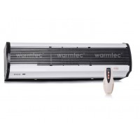 Luftschleier L 120cm bis 8 kW elektrisch Fernbedienung Lufttür Lufterhitzer Halterung