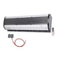 Luftschleier L 120cm bis 8 kW elektrisch Fernbedienung Türsensor Lufterhitzer Lufttür  Halterung