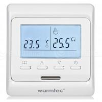 Raumthermostat PROGRAMIERBAR LCD Display Raumfühler Unterputz Thermostat Fußbodenheizung