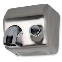 Elektro Handtrockner Händetrockner Push 2500W Edelstahl Matt Wandmontage Händefön Toilette