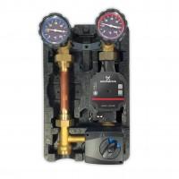 Oventrop Pumpengruppe m. Stellmotor Mischer Alpha Grundfos 40 60 Regumat M3-180 Anbindesystem DN25