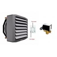 Lufterhitzer 12,8KW Drehzahltraforegler Thermostat Stellmotor 3 Weg Ventil Heizregister Luftheizung Hallenheizung