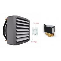 Lufterhitzer 26,5 KW Drehzahltraforegler Thermostat Stellmotor 2 Weg Ventil Heizregister Luftheizung Hallenheizung