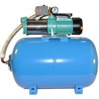 Wasserpumpe 150 l/min 2,4 kW 230V 80L Druckkessel Gartenpumpe Hauswasserwerk Neu