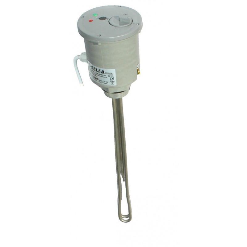 Heizstab f/ür Wasserspeicher 6 kW 5//4 6000W 400V Heizelement Heizpatrone