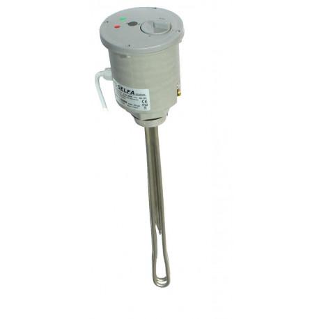 Heizstab 1500 W Heizelement Heizpatrone Neu, CE, VDA 1 1/2'' mit Thermostat