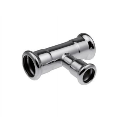 T-Stück Reduziert C-Stahl Pressfittinge Rohrsystem für Heizung M Kontur Neu TOP